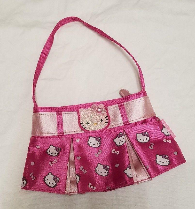 f3825b43619e Sanrio HELLO KITTY Skirt Purse Handbag GUC FREE SHIPPING