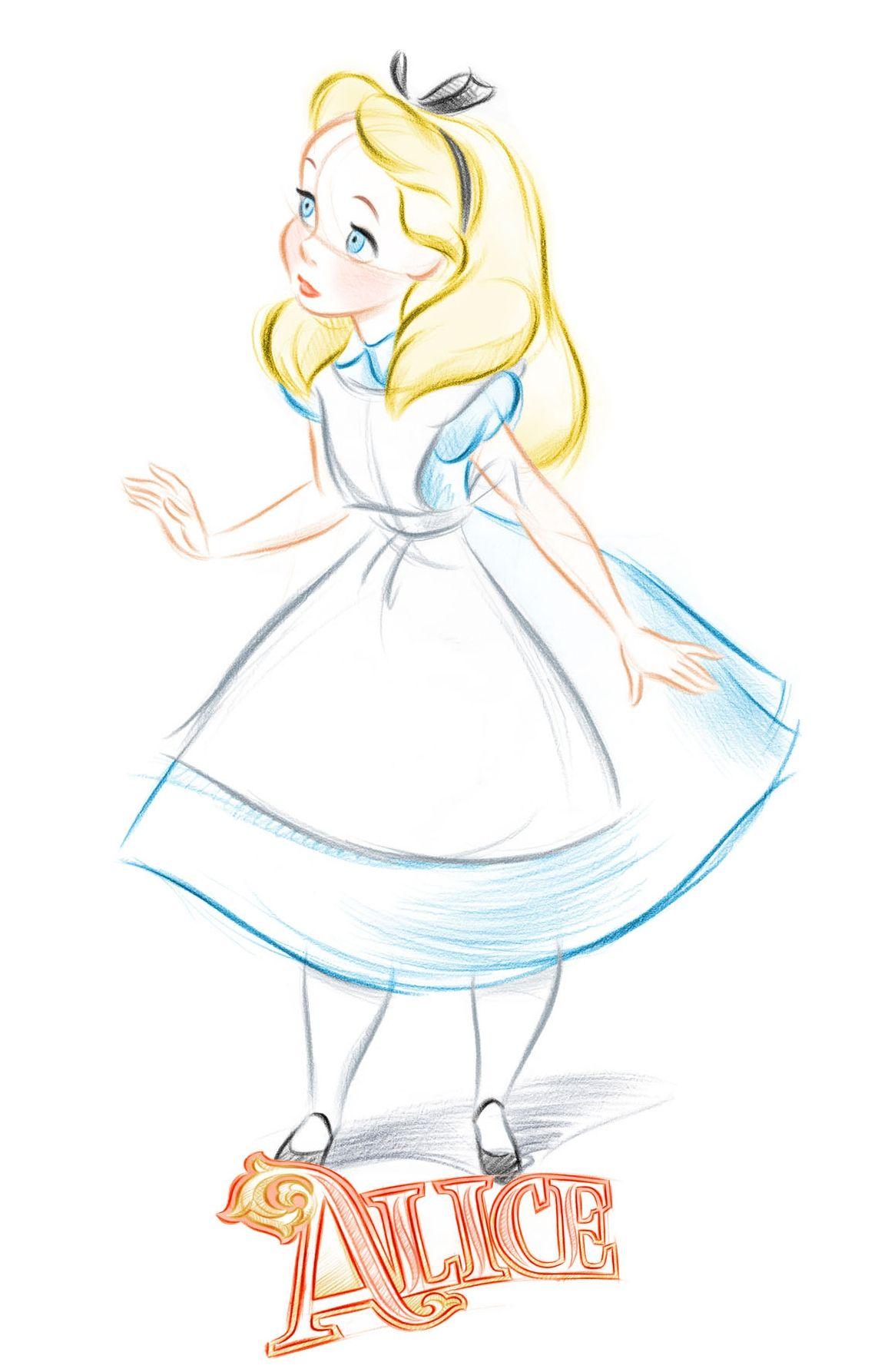 Dessin Alice Au Pays Des Merveilles Facile : dessin, alice, merveilles, facile, Alice, Sketch, Pedro, Astudillo, Dessins, Disney,, Merveilles,, Disney, Faciles