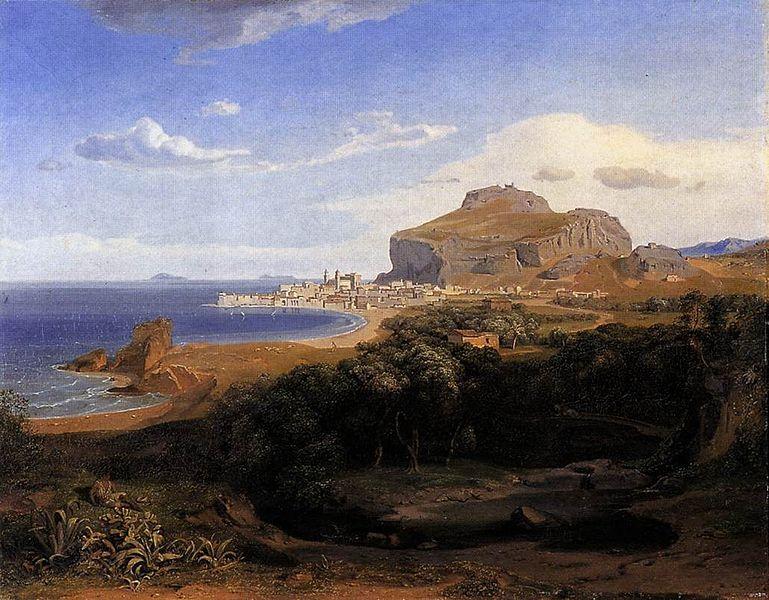 Carl Anton Joseph Rottmann - Cefalu - 1830