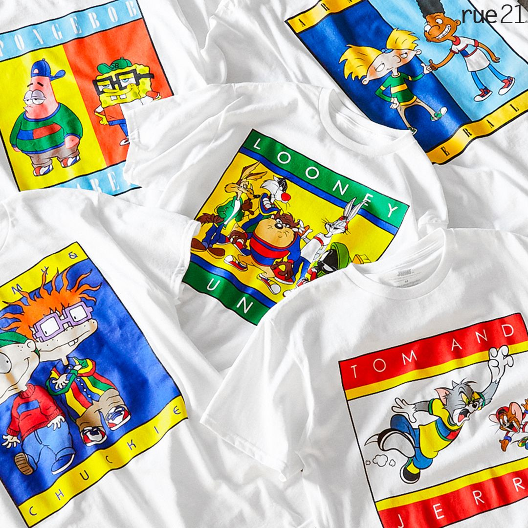 Toon Time Cartoon Outfits Graphic Tees Zumiez Outfits