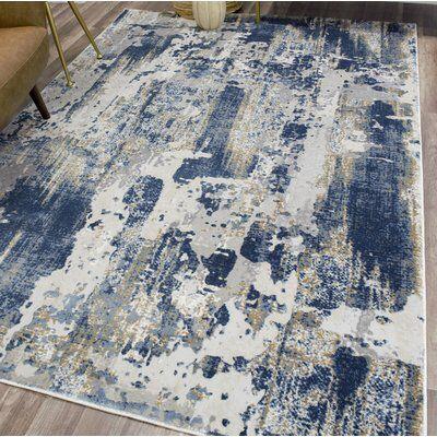 Astor Blue Gray Ivory Area Rug Blue Gray Area Rug Blue And Gold Living Room Blue Grey Living Room