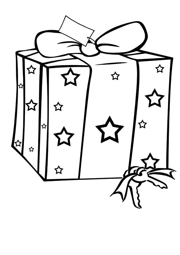 Christmas Presents Christmas Presents With Star Picture Coloring Pa Christmas Present Coloring Pages Christmas Coloring Sheets Christmas Gift Coloring Pages