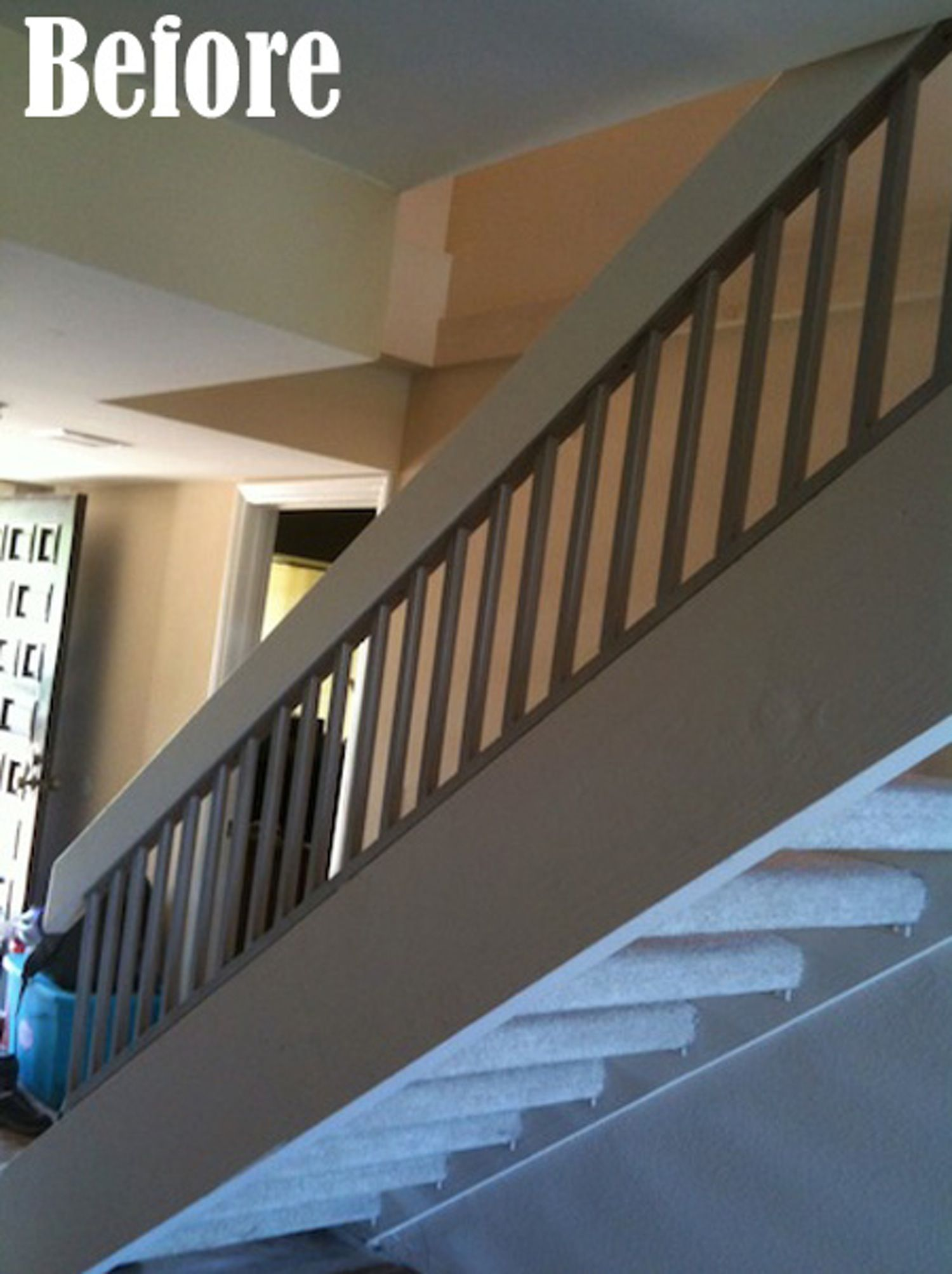 Before & After: Andrea & Cliff's Updated Floating Stairs