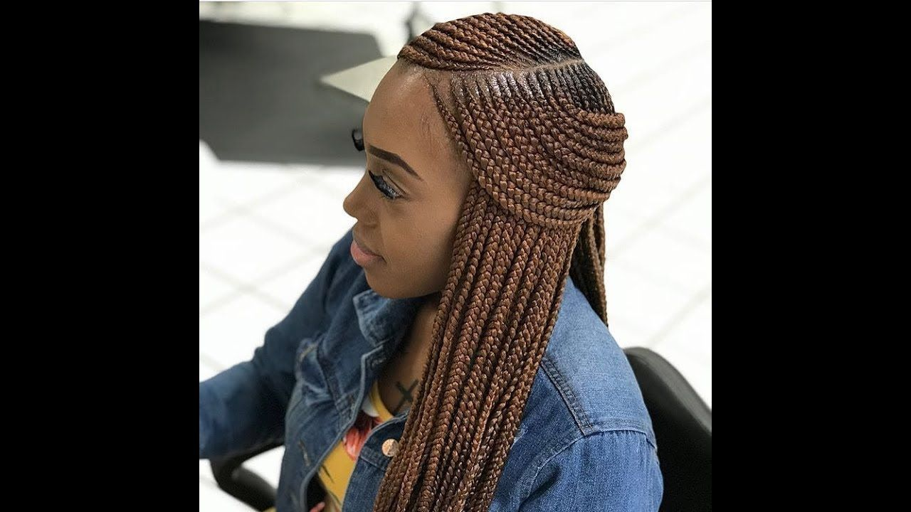 Latest Ghana Weaving: 2018 Weave Braids ; Latest Hairstyles You Should Try Next