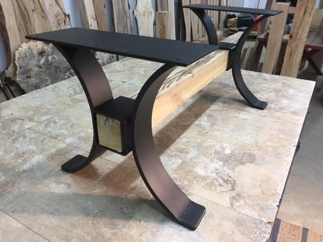 Steel Coffee Table Base Ohiowoodlands Legs Metal For At Ohio Woodlands