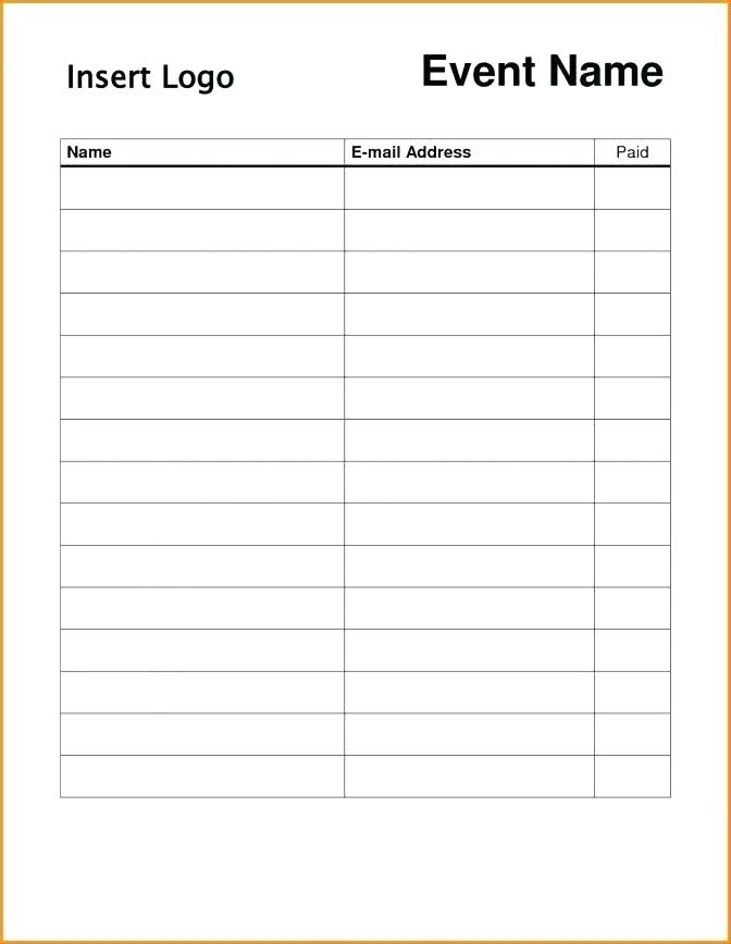 Employee Sign In Sheet Template from i.pinimg.com
