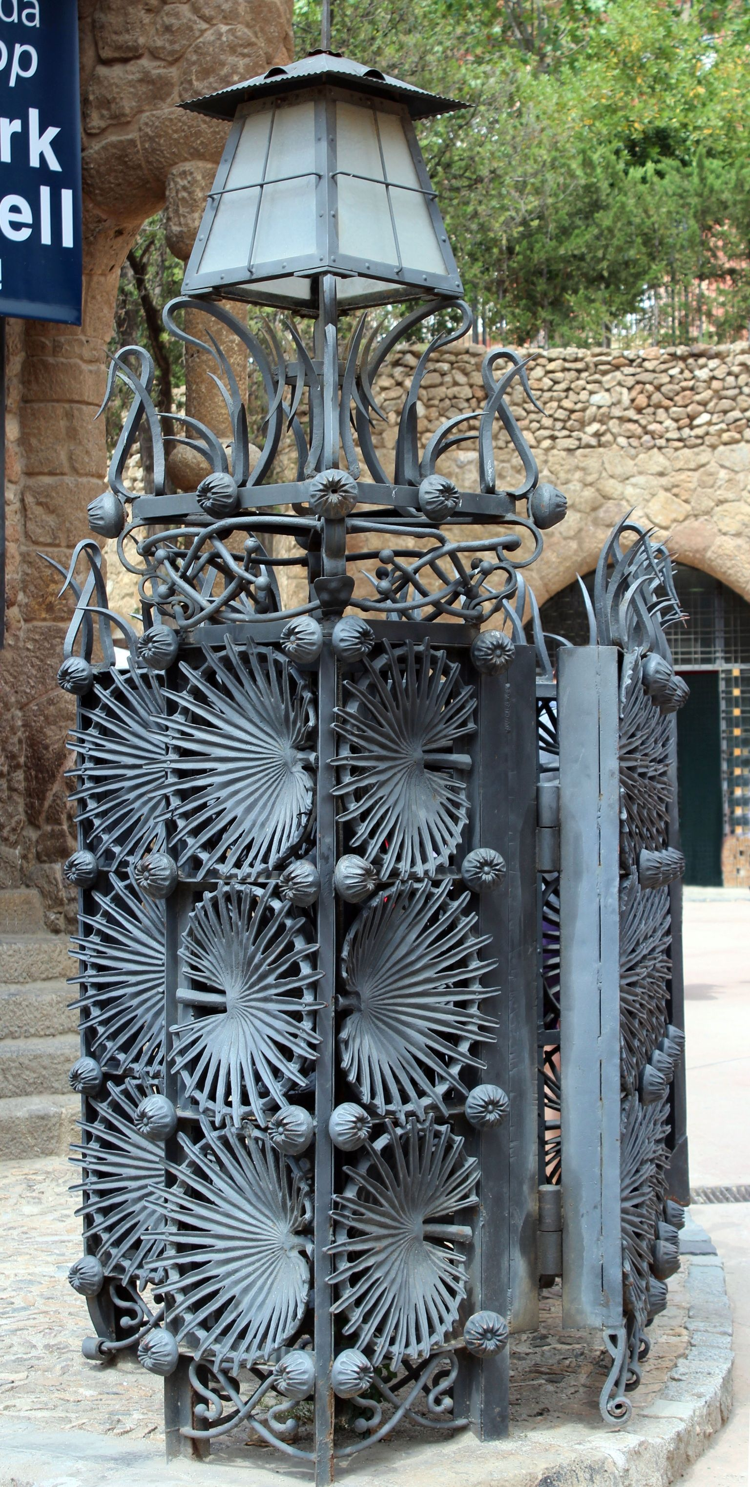Park Güell. Antoni Gaudi. Barcelona, Spain. 1900-14 ~~ For ...