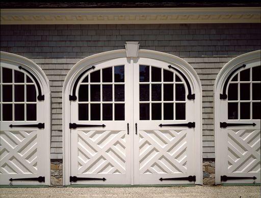 In Good Taste Allan Greenberg Architect Garage Door Design