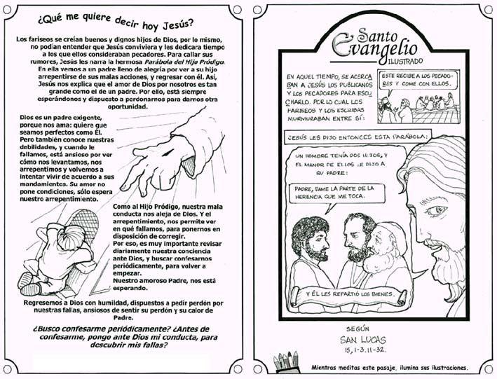 Evangelio Ilustrado Evangelio Catequesis Oracion Para Mi Esposo