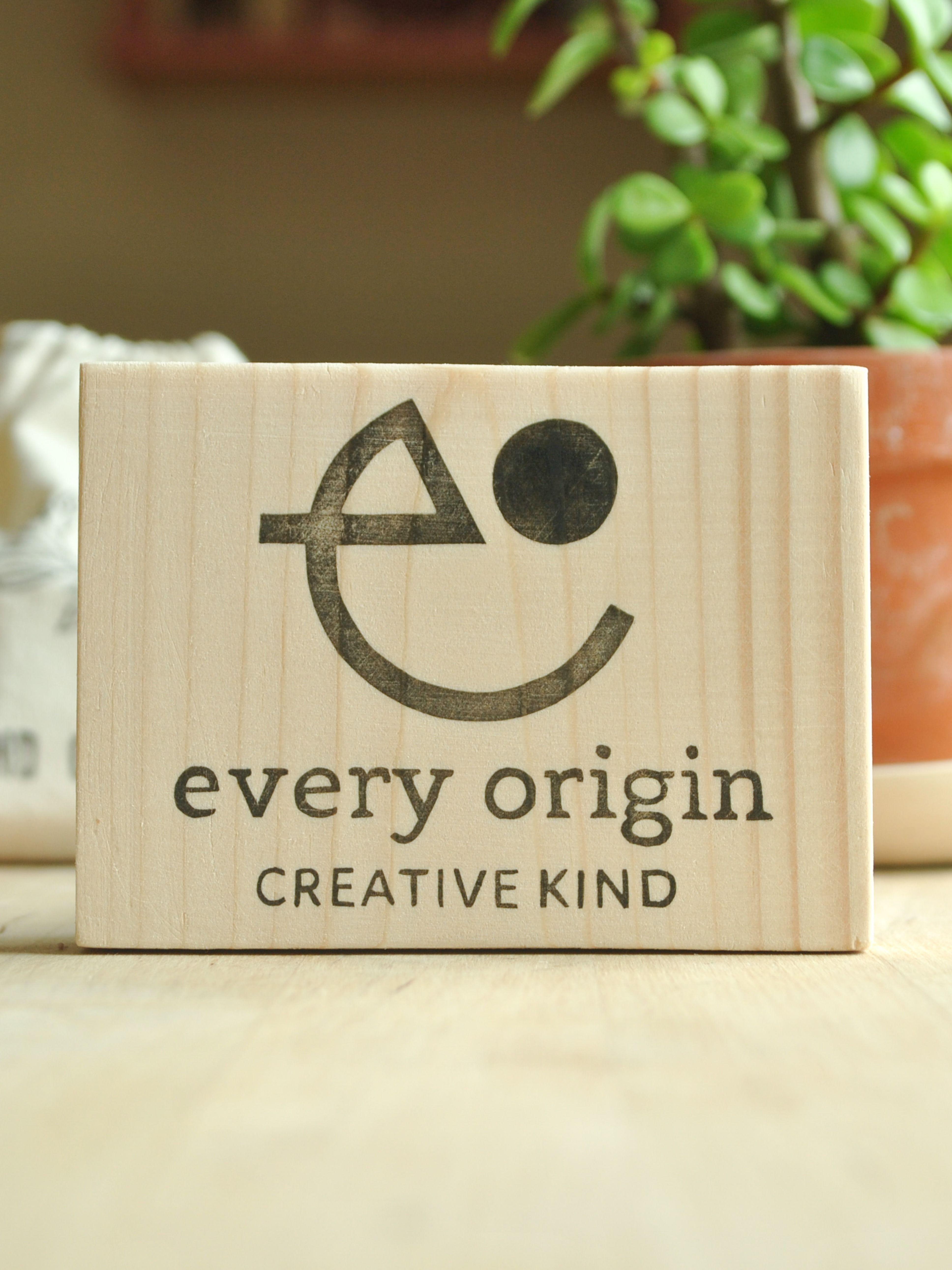 Custom logo stamp hand carved personalised wedding stamp