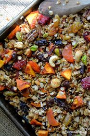 (everything but the) Kitchen Sink Granola