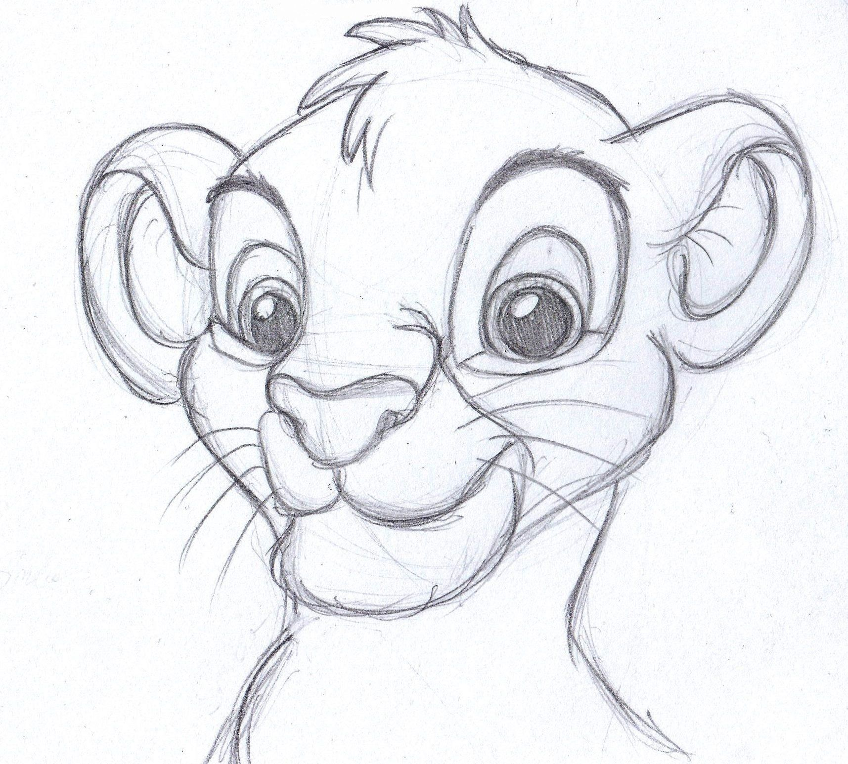 the lion king one of my favorite movies drawing pinterest