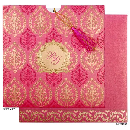 Indian marriage invitations indian wedding invitation cards hindu wedding cards cw 8249k indianweddingcards stopboris Choice Image
