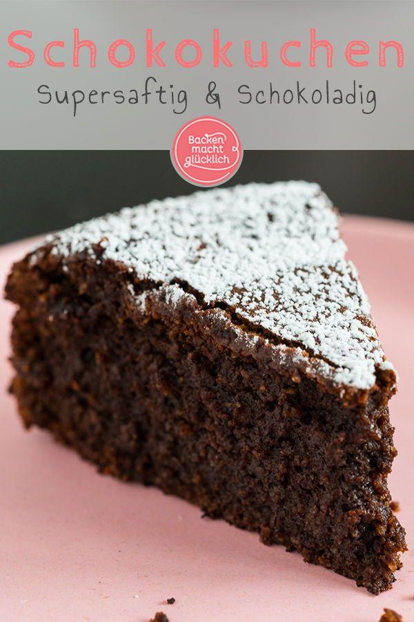 Schokoladenkuchen Ohne Mehl Backen Macht Glucklich Rezept Schokoladenkuchen Ohne Mehl Glutenfreier Schokokuchen Kuchen Und Torten