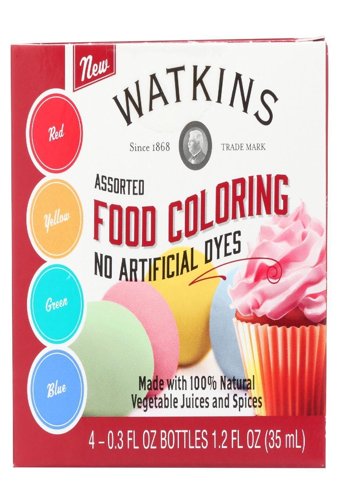 J R Watkins Food Coloring