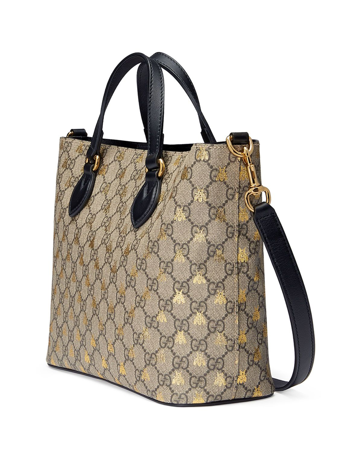 bfce35ed Gucci Bestiary GG Supreme Tote Bag | Clothes, bags, and shoes ...