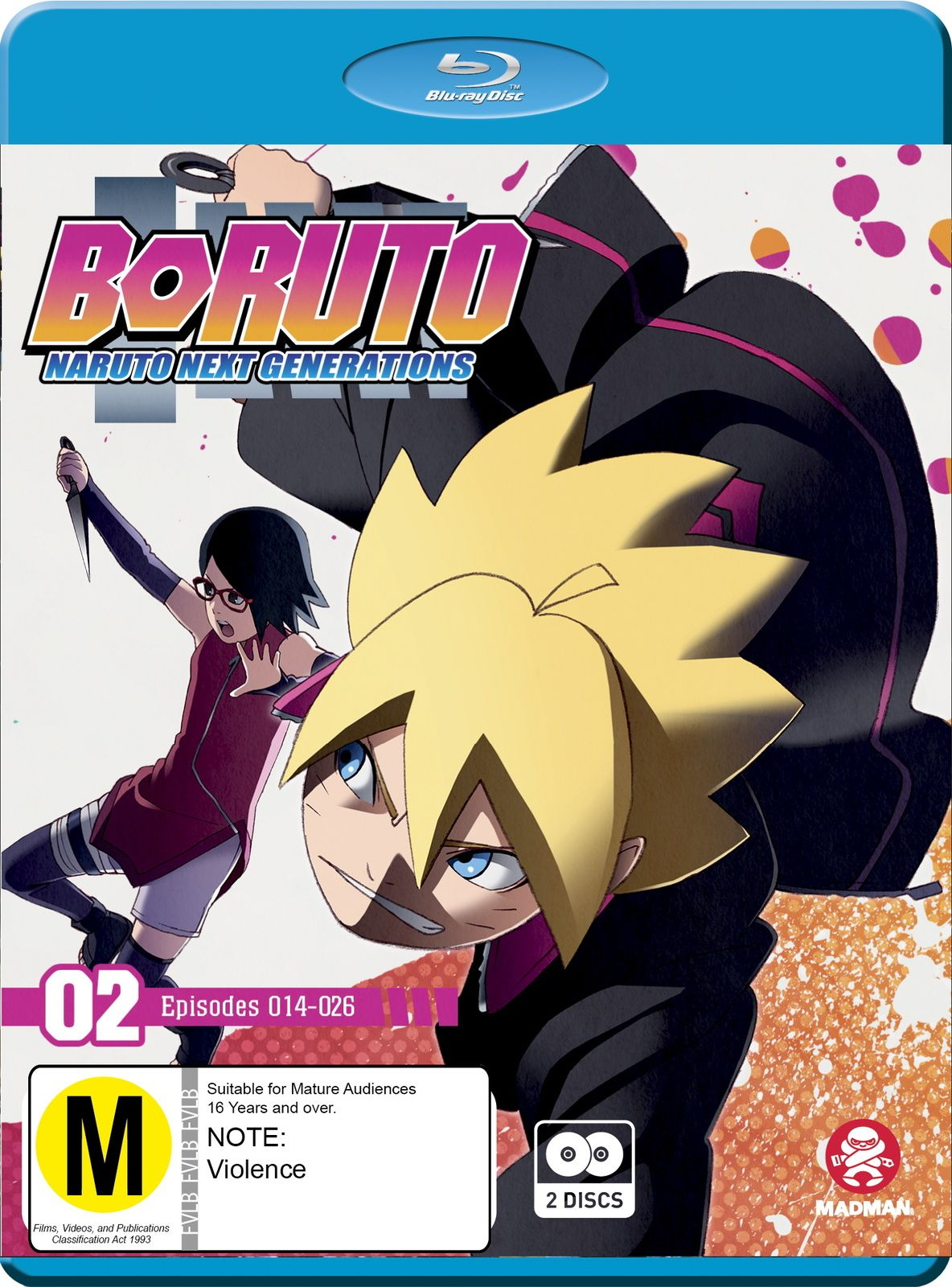 Boruto Next Generation Episode 2 : boruto, generation, episode, Boruto:, Naruto, Generations, 14-26, Blu-ray, Boruto,, Naruto,, Boruto