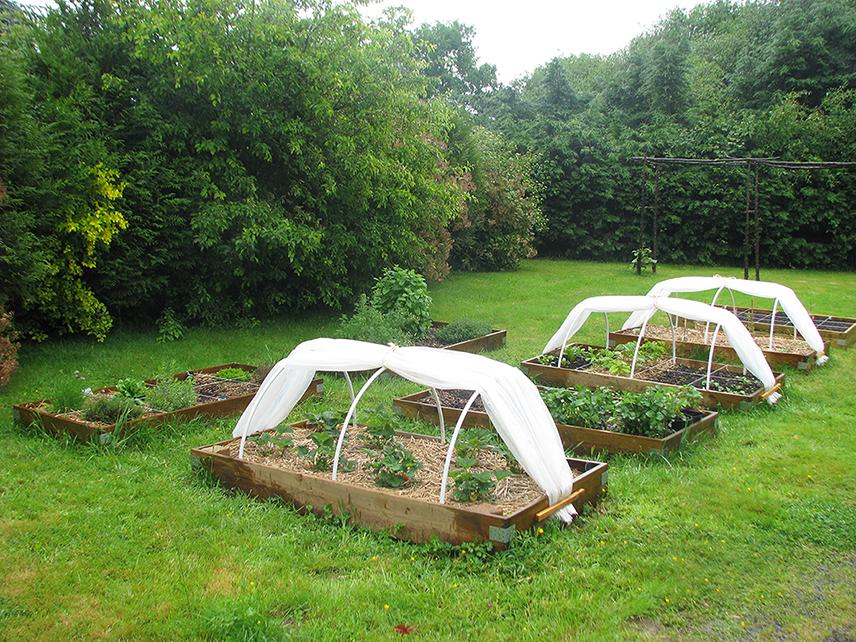 potager en carr protections serre et jardin. Black Bedroom Furniture Sets. Home Design Ideas