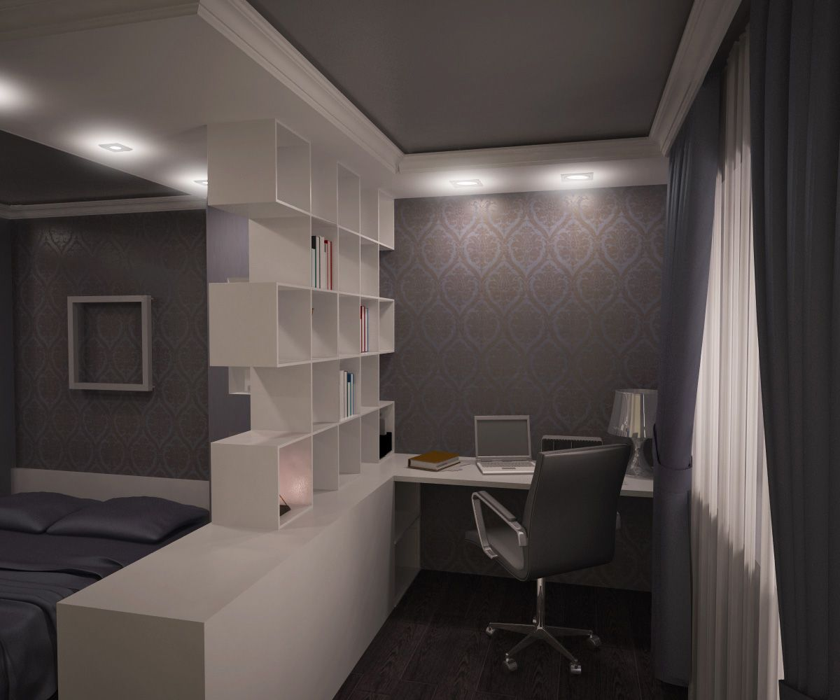дизайн комнаты в общежитии 1