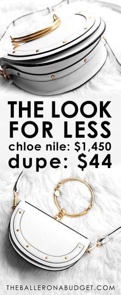 ef018a6085 Designer Dupe: Chloe Small Nile Minaudiere – $1,450 vs. $59.97 ...