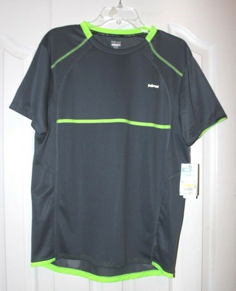 Hind Mens Running Athletic Sports Shirt Mesh Cooling Top Size