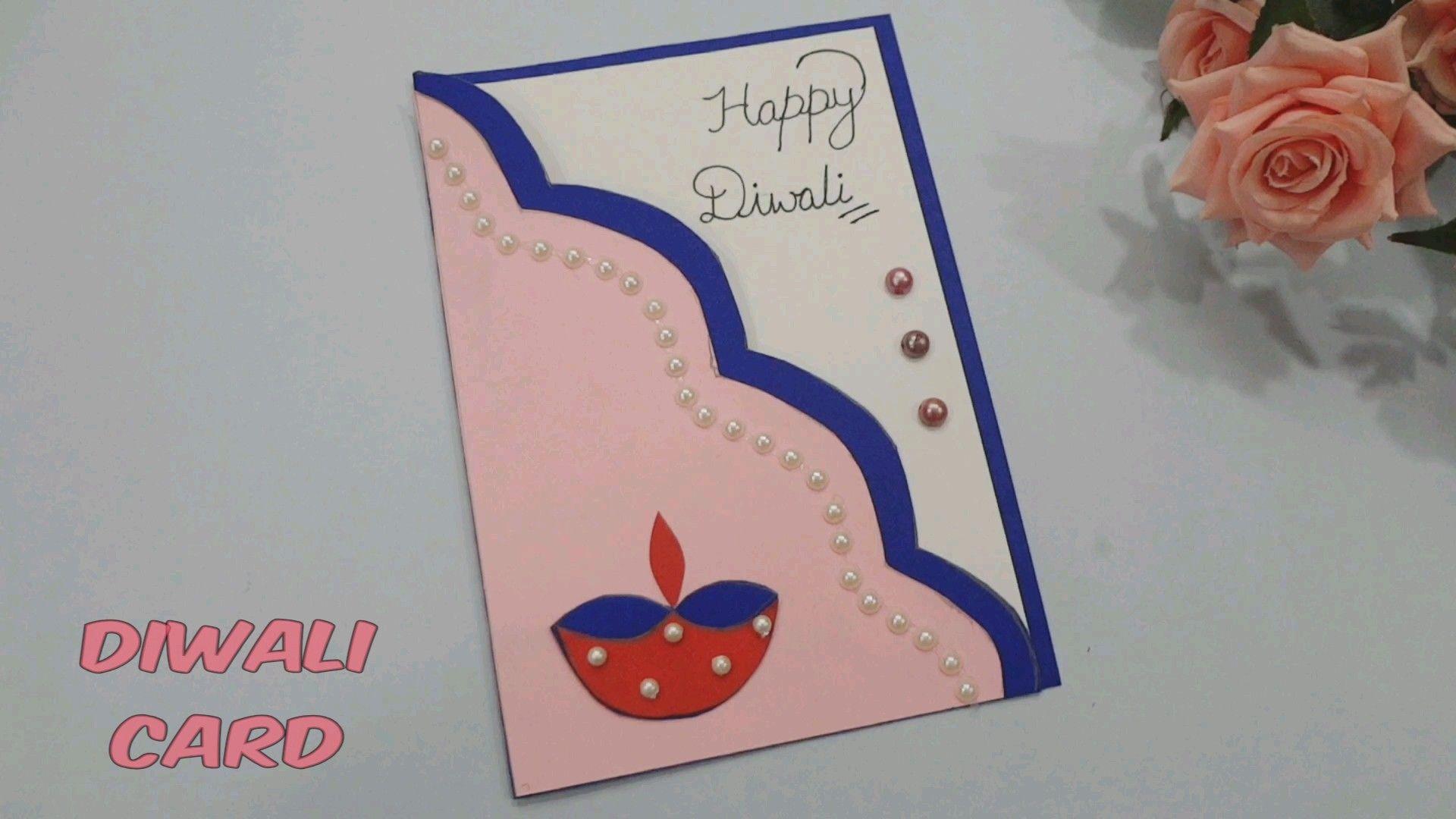 Diy Diwali Greeting Card Diwali Card Making Handmade Diwali Greeting Cards Diwali Greeting Cards
