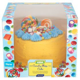 ASDA Candy Shop Cake undefined Online food shopping
