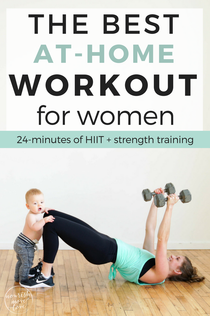 The Best Strength Hiit Home Workout For Women Hiit Workout At Home At Home Workouts For