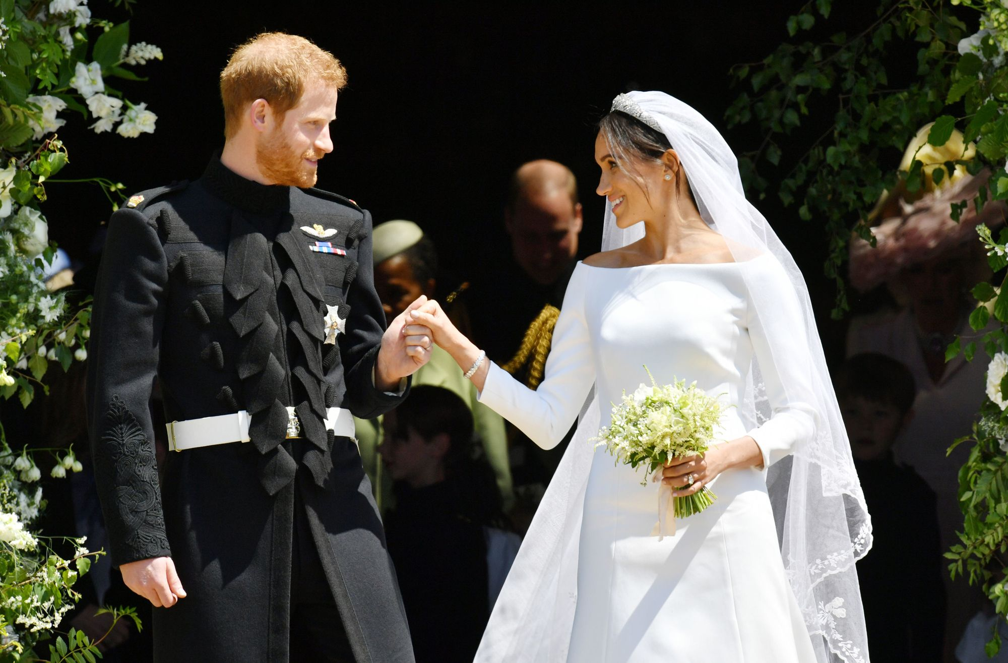 Here S The Menu From The Royal Wedding Lunch Reception And It Looks Delicious Royal Wedding Harry Harry And Meghan Wedding Meghan Markle Wedding