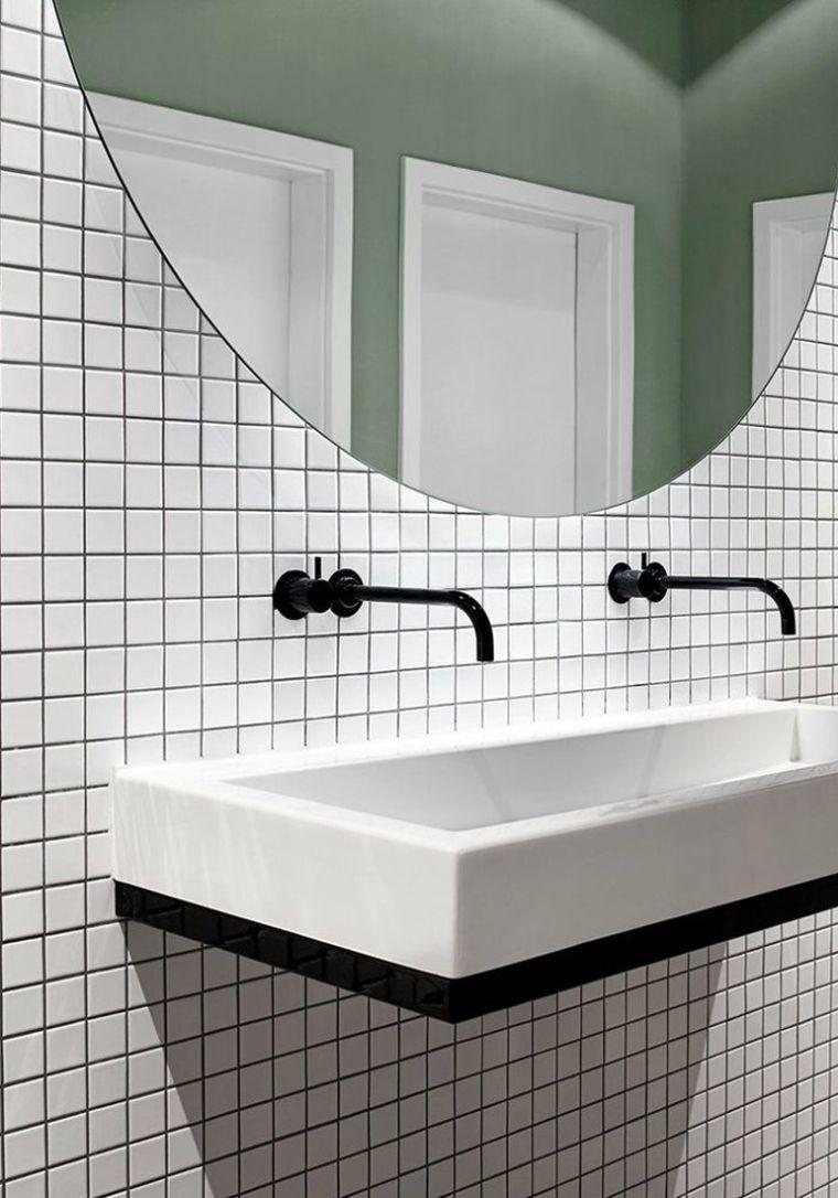11x witte tegels in huis - Witte tegels, Tegels en Badkamer
