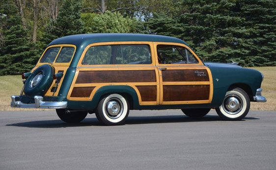 """1951 Ford Custom """"Country Squire"""" Station Wagon Station"""