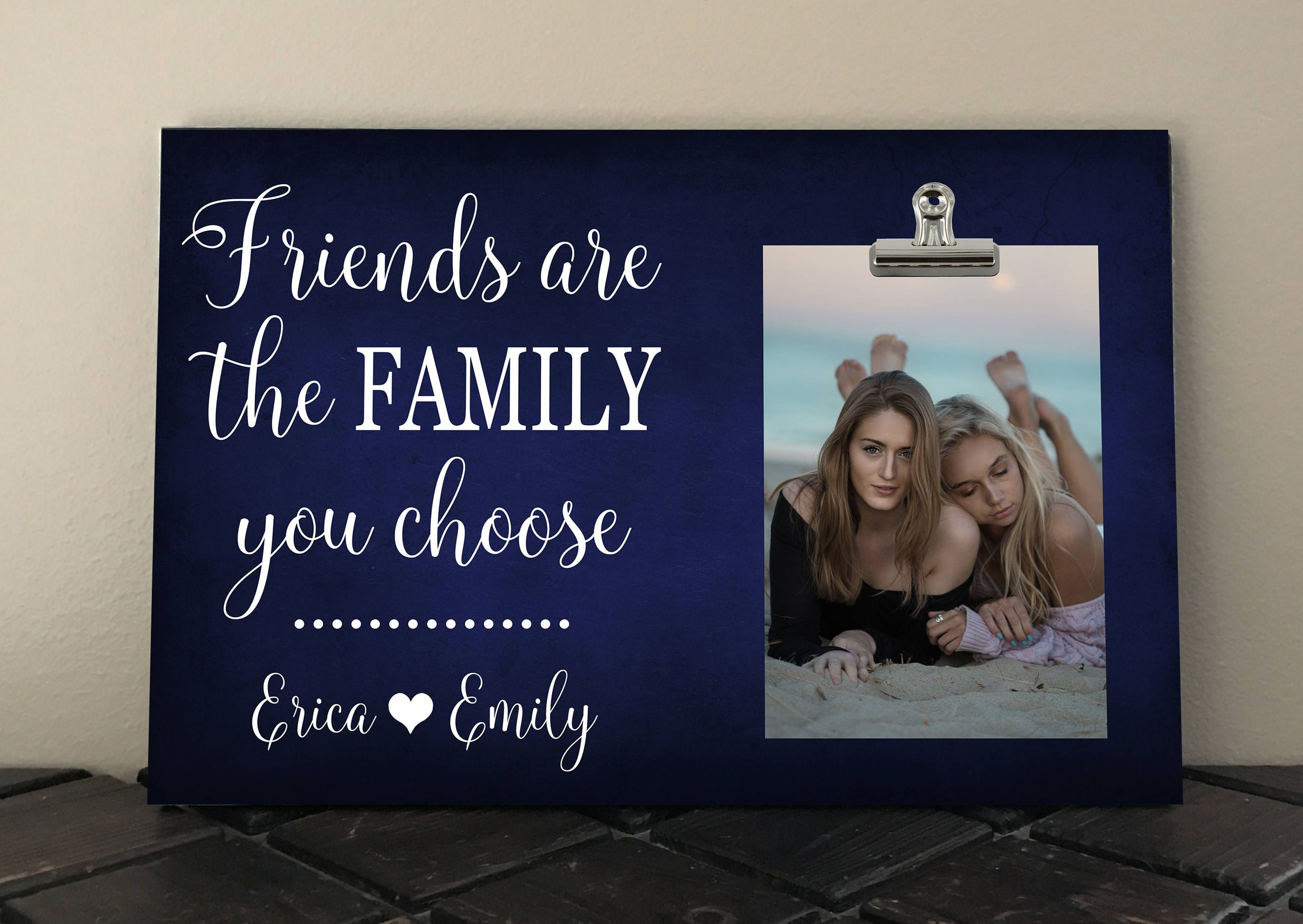 Friends Are The Family You Choose Free Design Proof And
