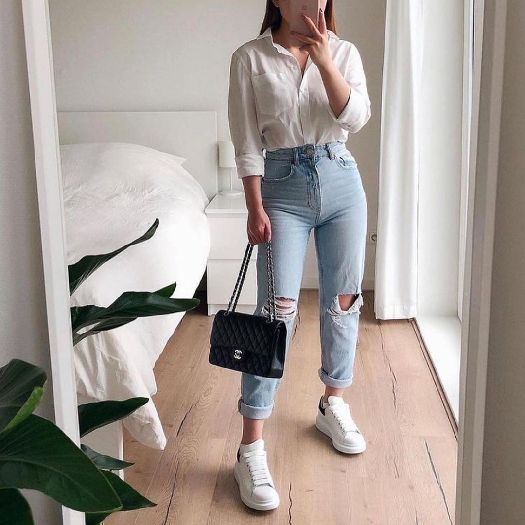 Women Classic Clothes Inspire Stylish Fall 2021 Sweet Korea Fashion Tiktok School In 2021 Fashion Classic Outfits For Women Clothes