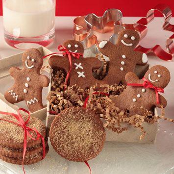 Nielsen-Massey Chewy Chocolate Gingerbread Cookies Recipe