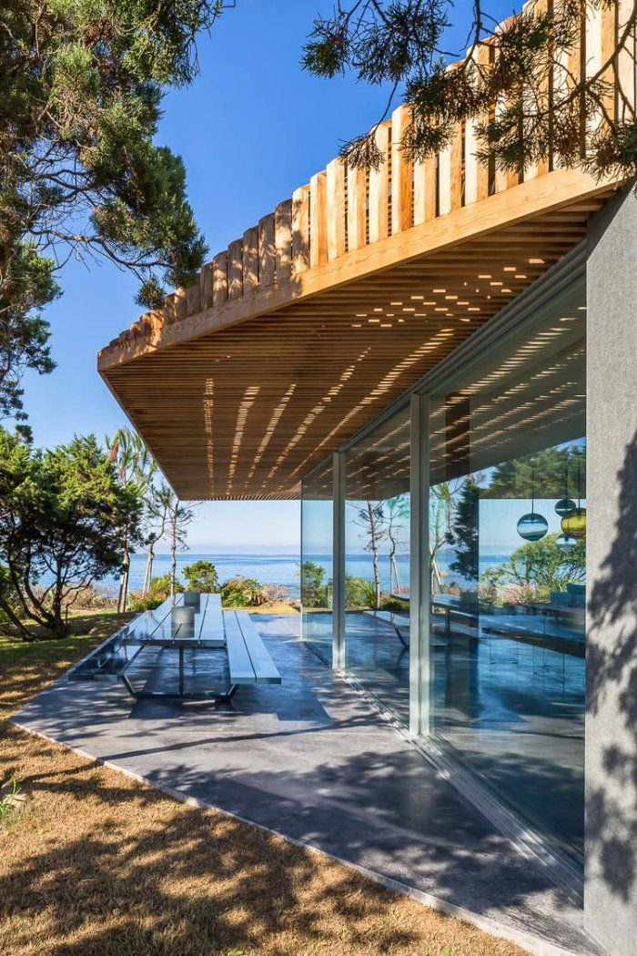 Seaside residential house south corsica by vincent coste architecte house architecture and architecture design