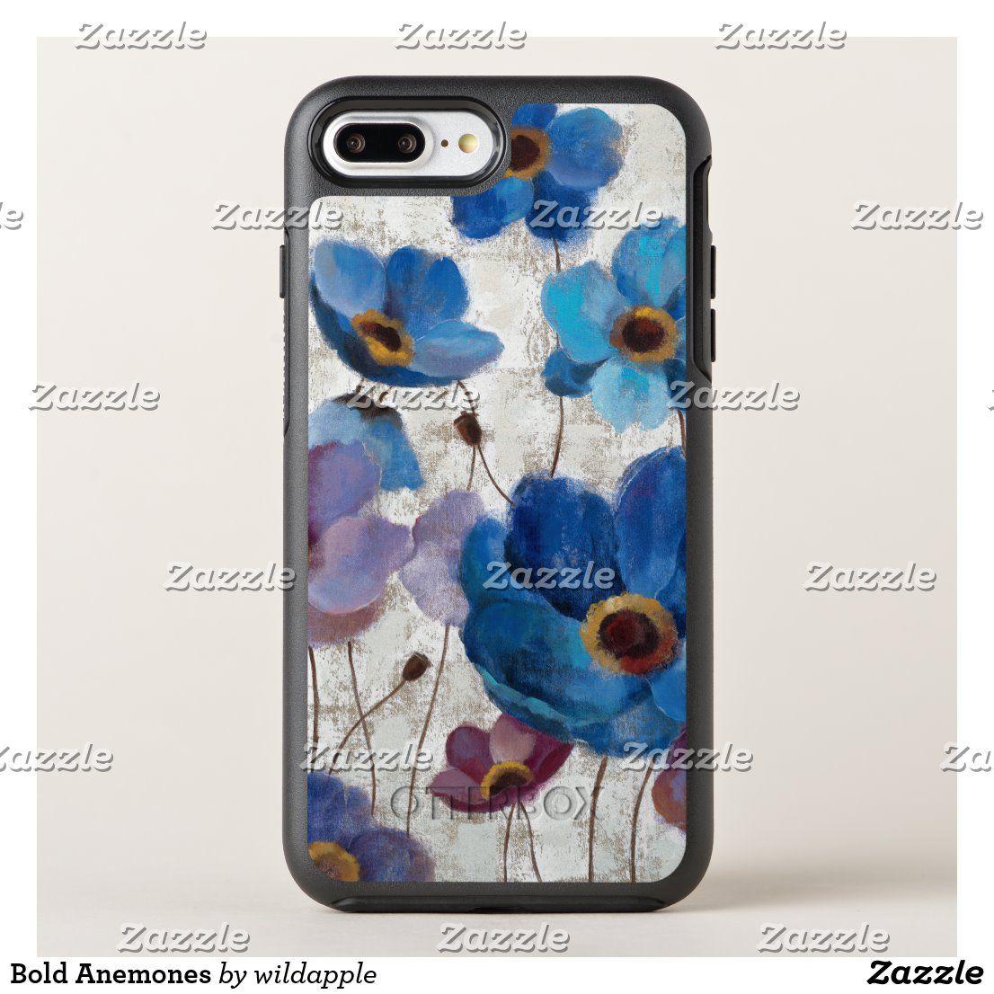 Bold Anemones OtterBox iPhone Case | Zazzle.com – Phone Cases