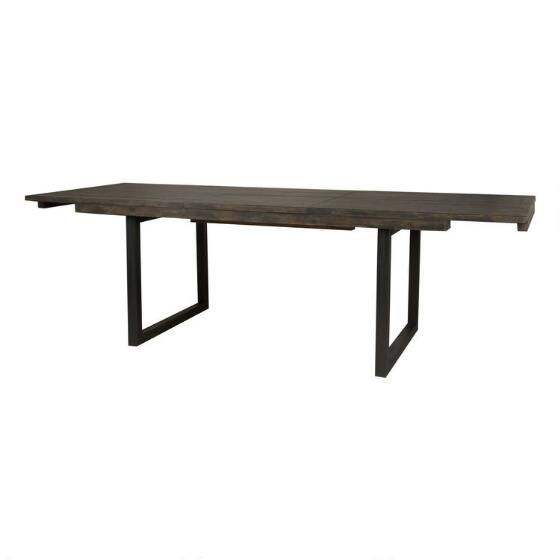 Pleasant Rustique Ext Dining Table Bark Brown Urban Barn Cad1400 Gmtry Best Dining Table And Chair Ideas Images Gmtryco