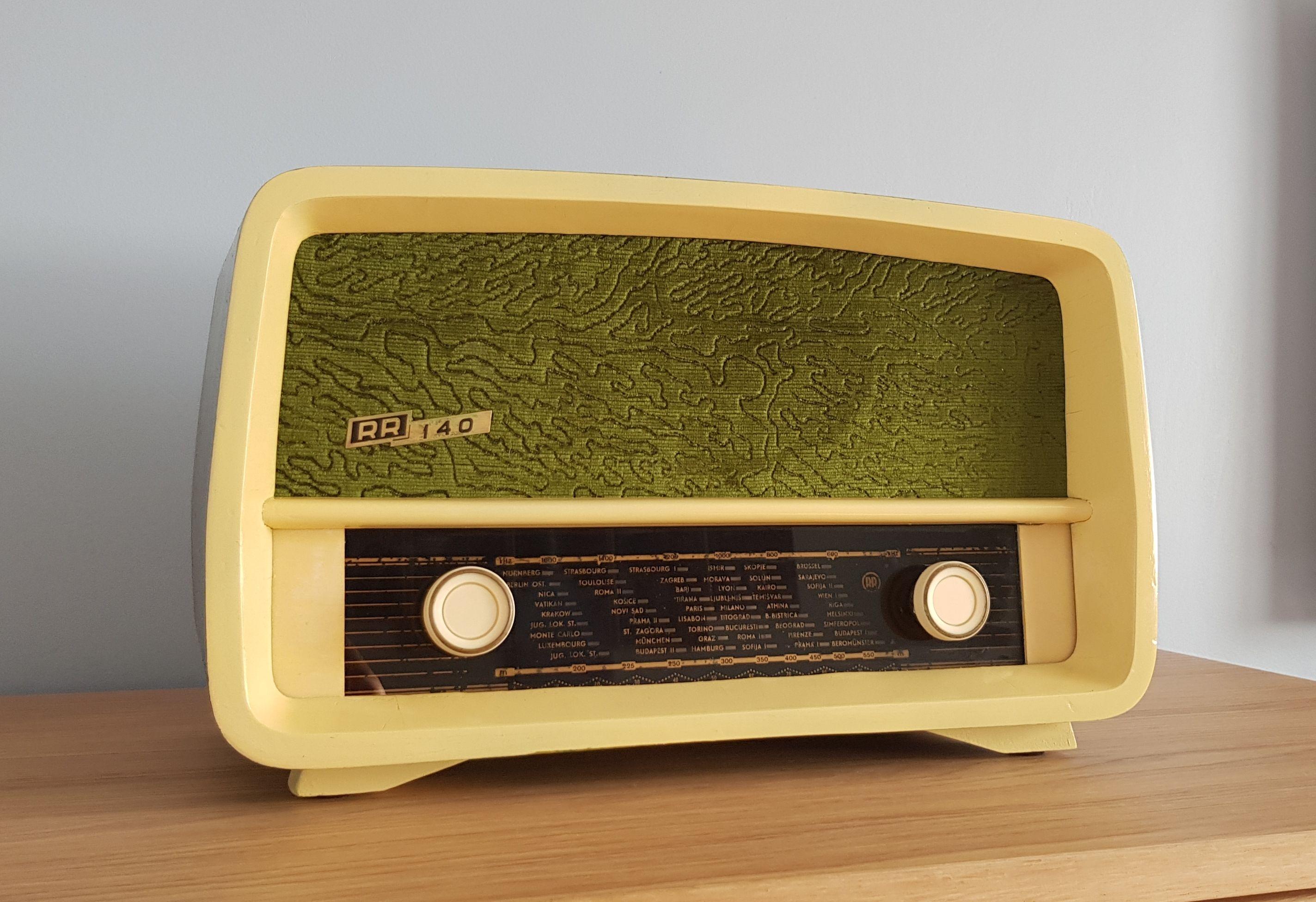 Vintage Radio Rr 140 Vintage Radio Vintage Electronics Radio
