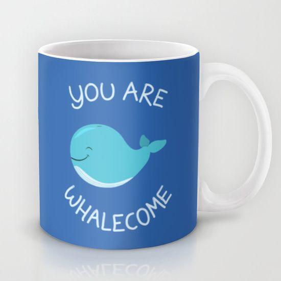 Whale, thank you! Mug