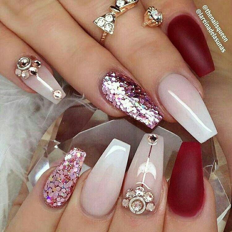 Montsecita | Amazing nails | Pinterest | Diseños de uñas, Diseños ...