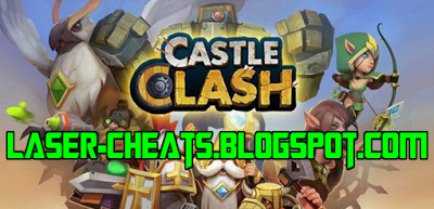 Laser Cheats Castle Clash Hack Tool And Cheats Free Download Unlimited Gold Mana And Gems Castle Clash Castle Clash Hack Clash Games
