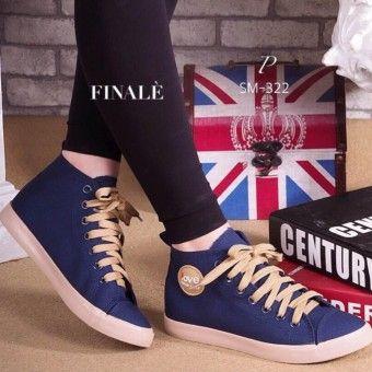 the latest e1c91 ddeba เว็บไซต์ ESTHER รองเท้าผ้าใบแฟชั่นผู้หญิง รุ่น CSM322 - BLUE (สีน้ำเงิน)  Pantip ...