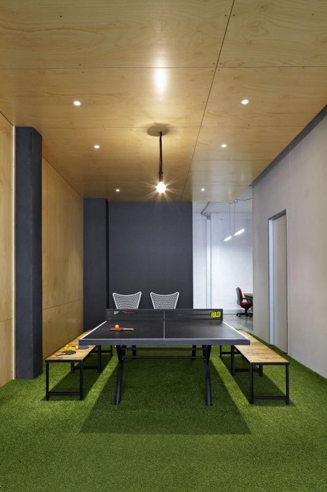 Table Tennis Room Design: Ping Pong Table Tennis Table Idea (24)