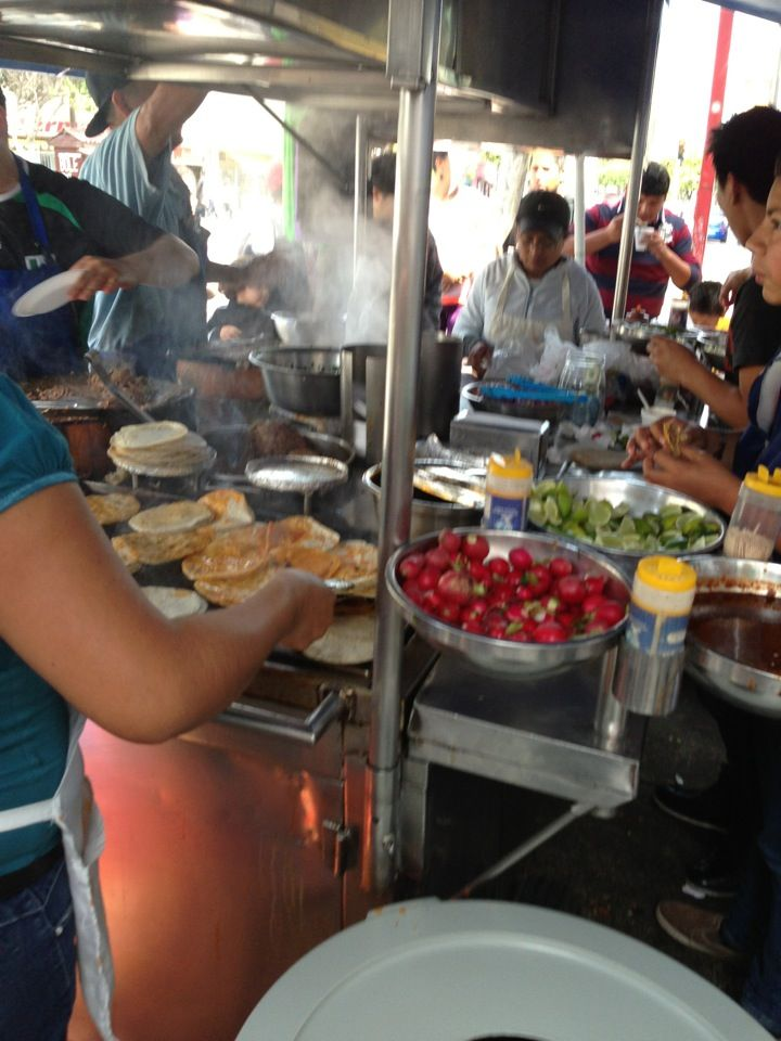 Tacos de birria de la cuarta in Tijuana, Baja California (Mexico).  The street tacos in Tijuana are better than ANY sit-down restaurant tacos in the US.  Whether it's here or somewhere else, it's almost worth the personal risk to get there.