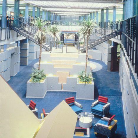 postmodern architecture: tv-am studiosterry farrell