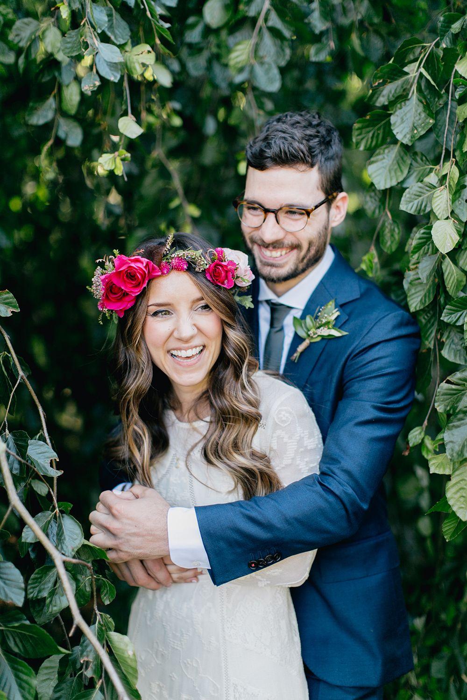 Lush Green Wedding With a Boho Twist