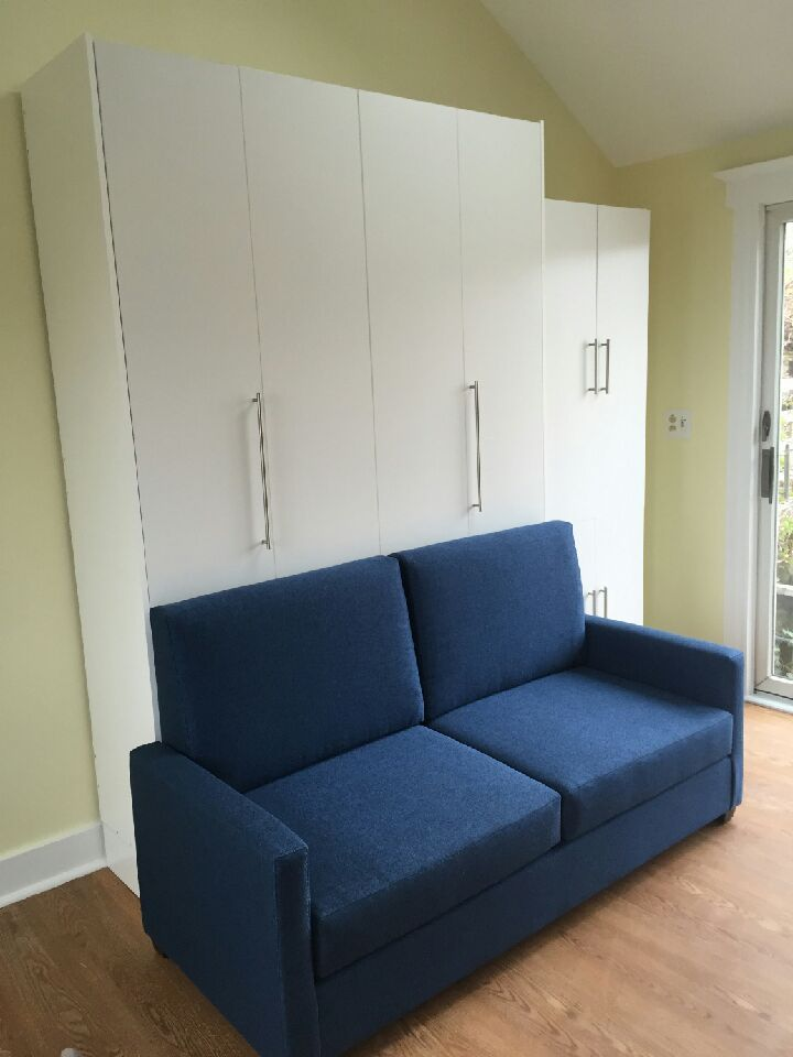 Vertical Queen Size Ny Murphy Sofa Bed