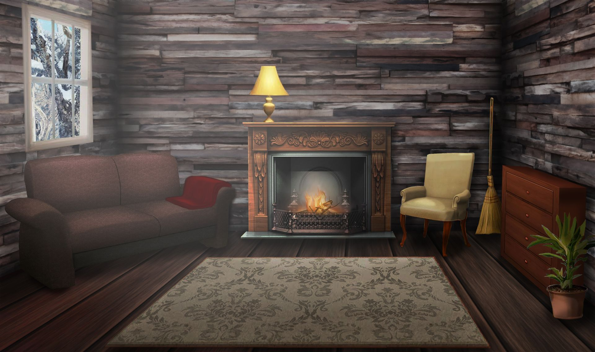 Living Room Episode Backgrounds Episode Interactive Backgrounds