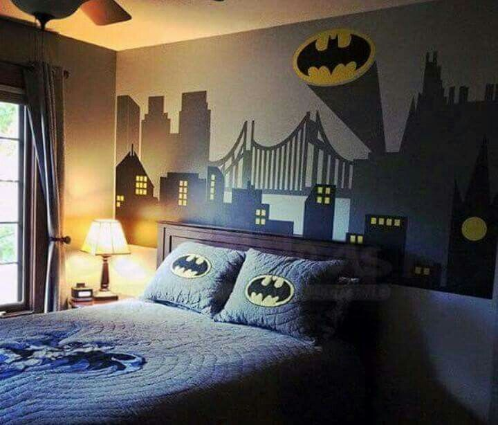 Boys Superhero Room Decor: Pin By Addie On Yellow, Blue, Gray, Black And White #215