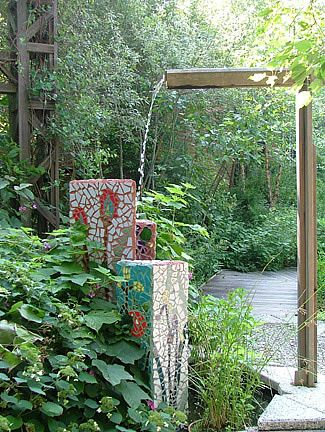 Charming Historic Garden At Temple Universitys Ambler Campus - Temple landscape architecture